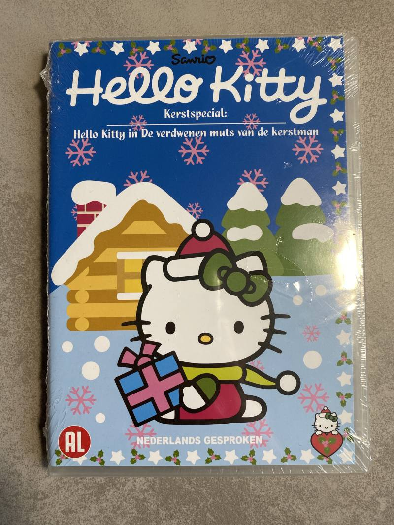 Hello kitty kerstspecial DVD