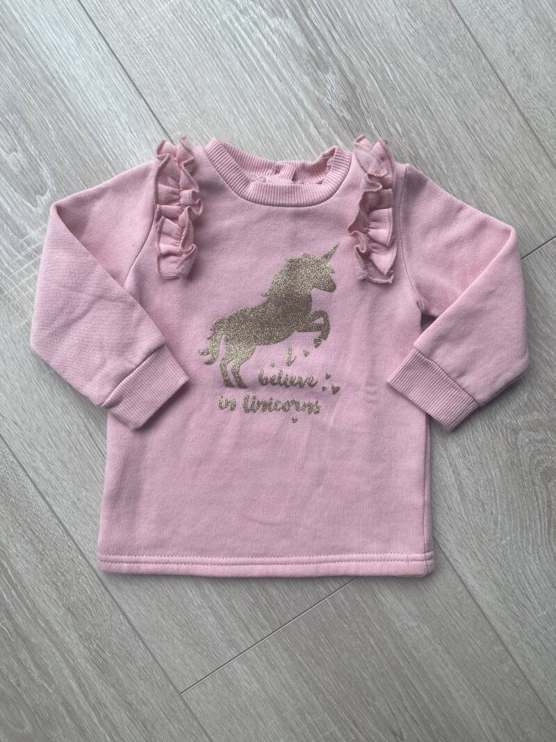 Unicorn sweater maat 74