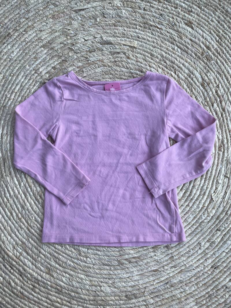 H&M basic roze shirt maat 98/104