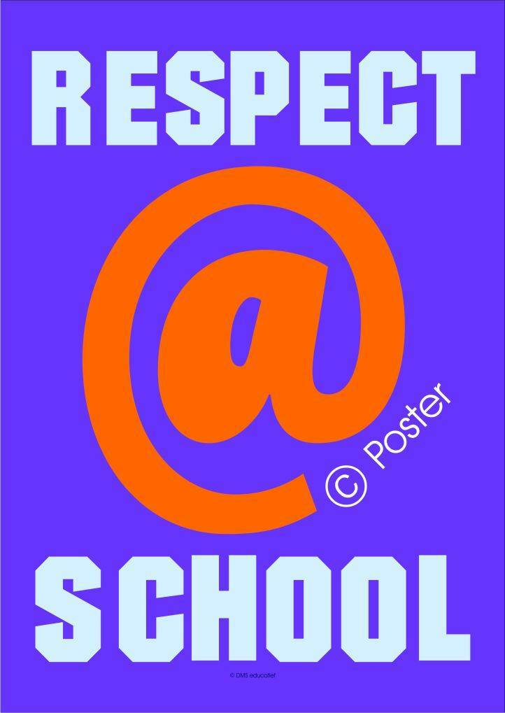 Poster 'Respect@school' A3
