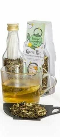 Zuster Evie, Losse thee, Groene thee