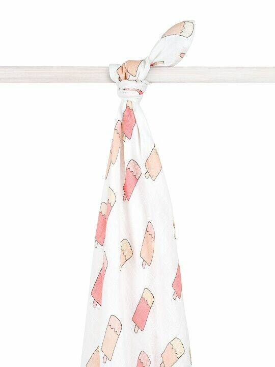 Jollein Hydrofiel Doek Icecream Peach XL 140x200