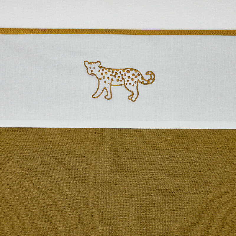 Meyco Laken Cheetah Honey Gold 100x150