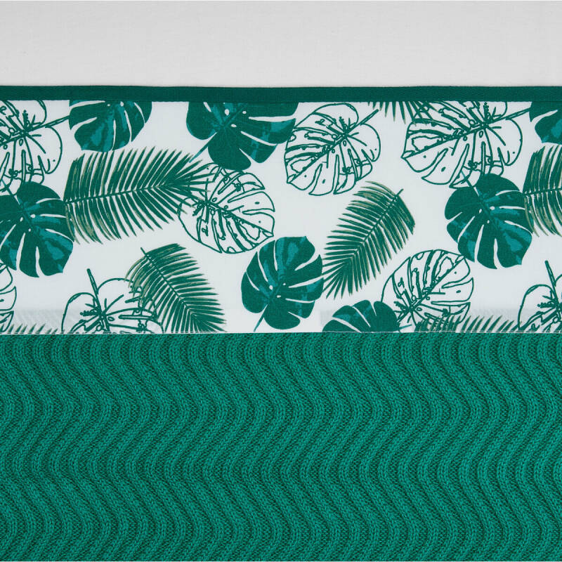 Meyco Laken Tropical Leaves 75x100