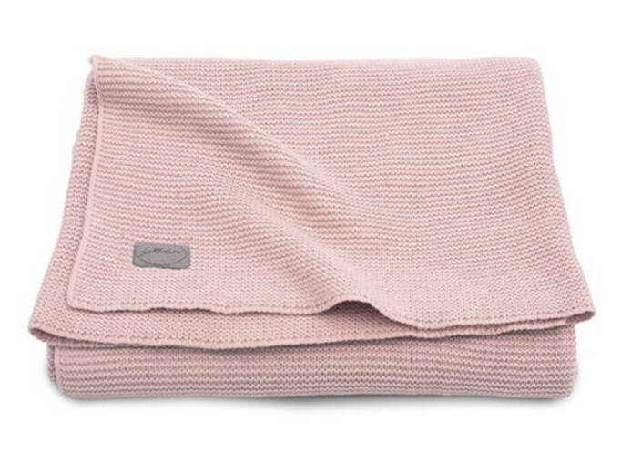 Jollein Deken Basic Knit Blush Pink 100x150