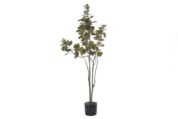 Artificial Cotinus Coggygria tree in pot