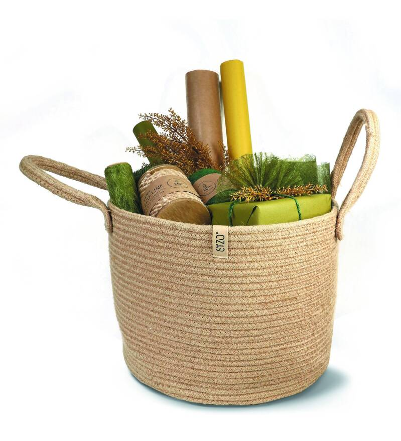 SIZO Planter and storage Basket Naturel