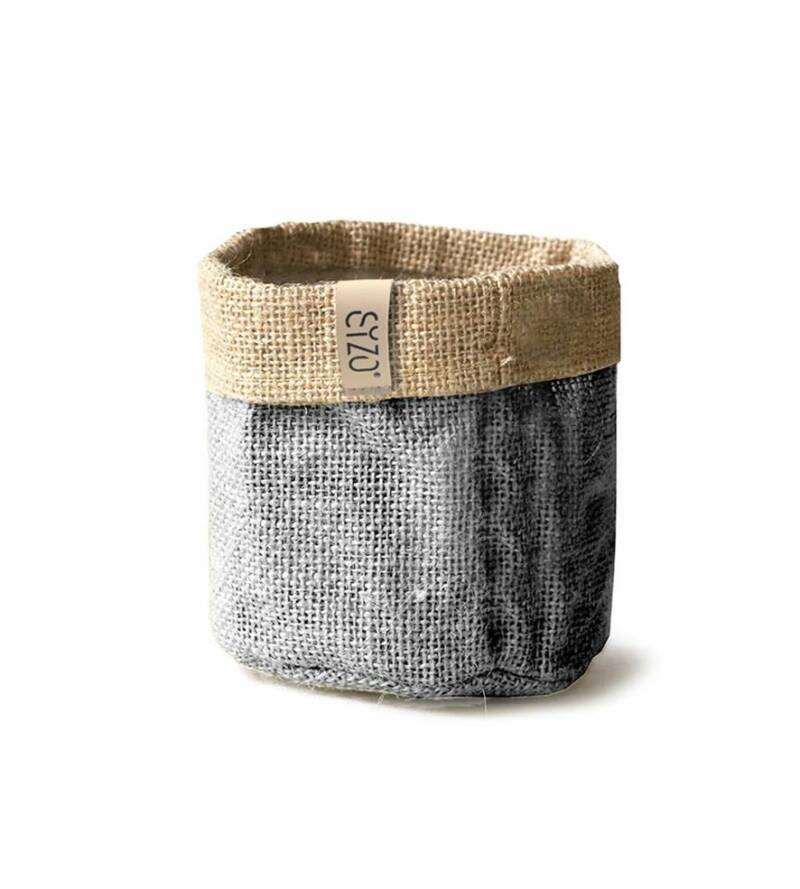 SIZO Jute Bag grey