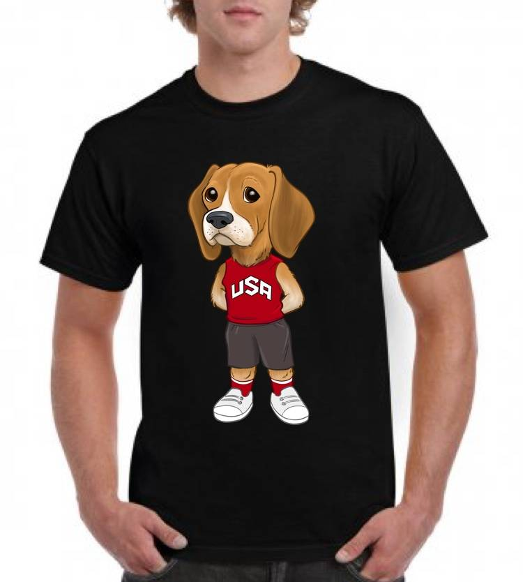 DJANGO THE BEAGLE TEE
