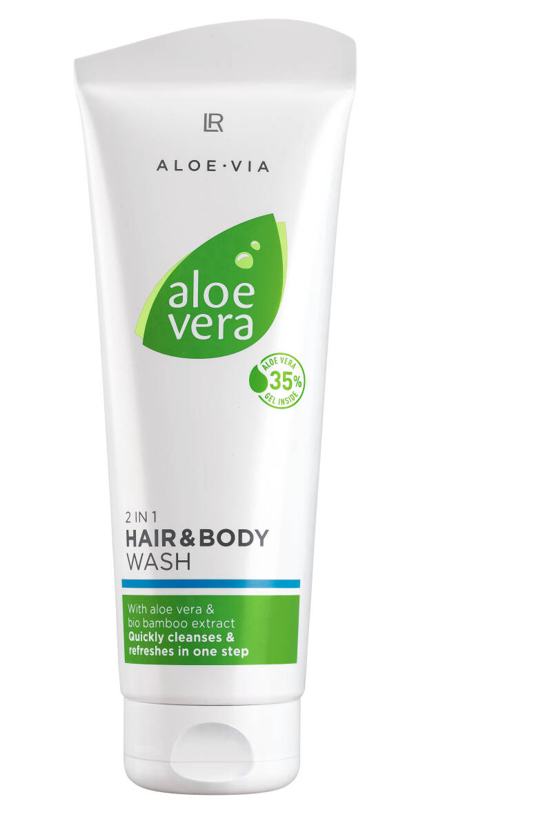 Aloe Vera 2 in 1 Hair & Body Wash