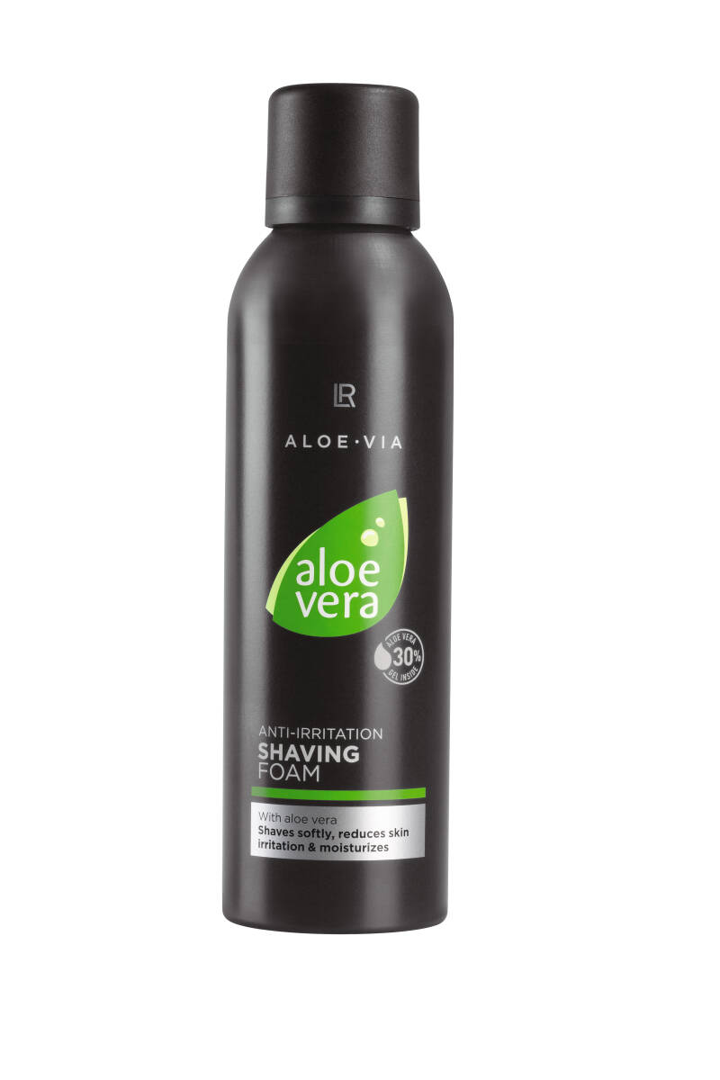 Aloe Vera Anti-Irritation Shaving Foam