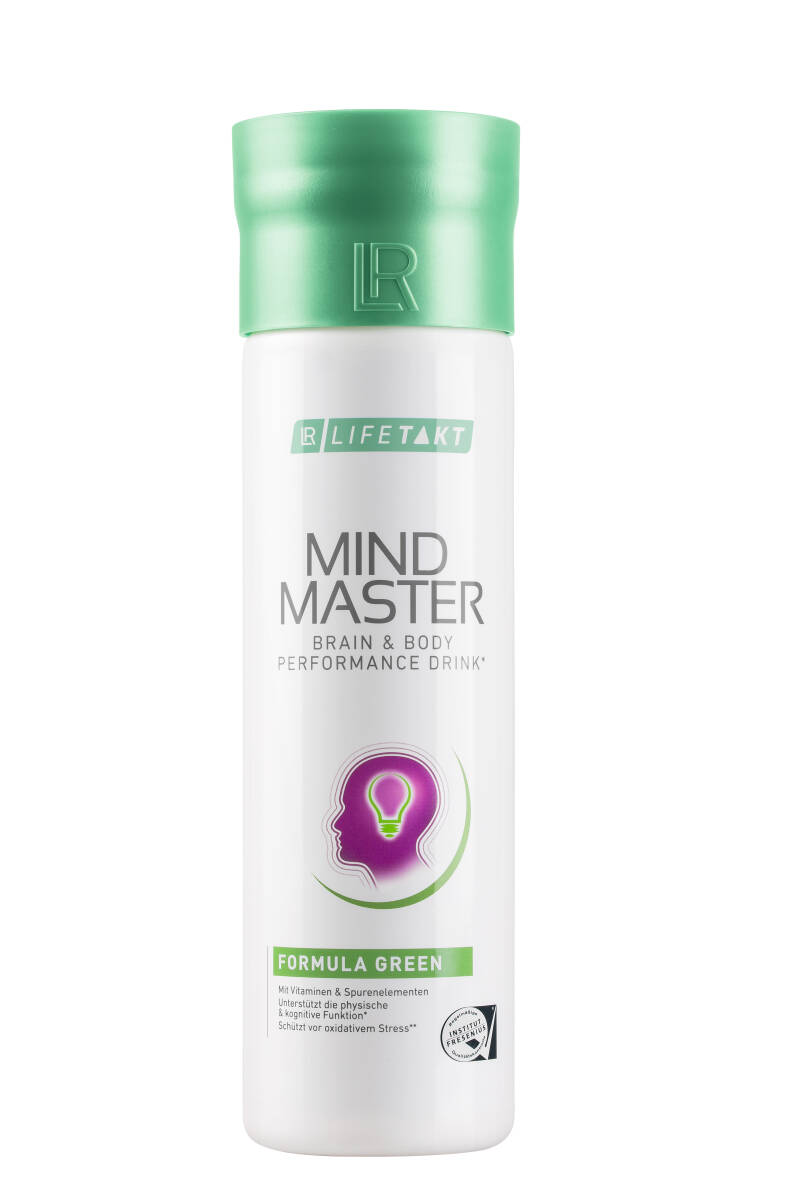 LR LIFETAKT Mind Master Brain & Body Performance Drink Green