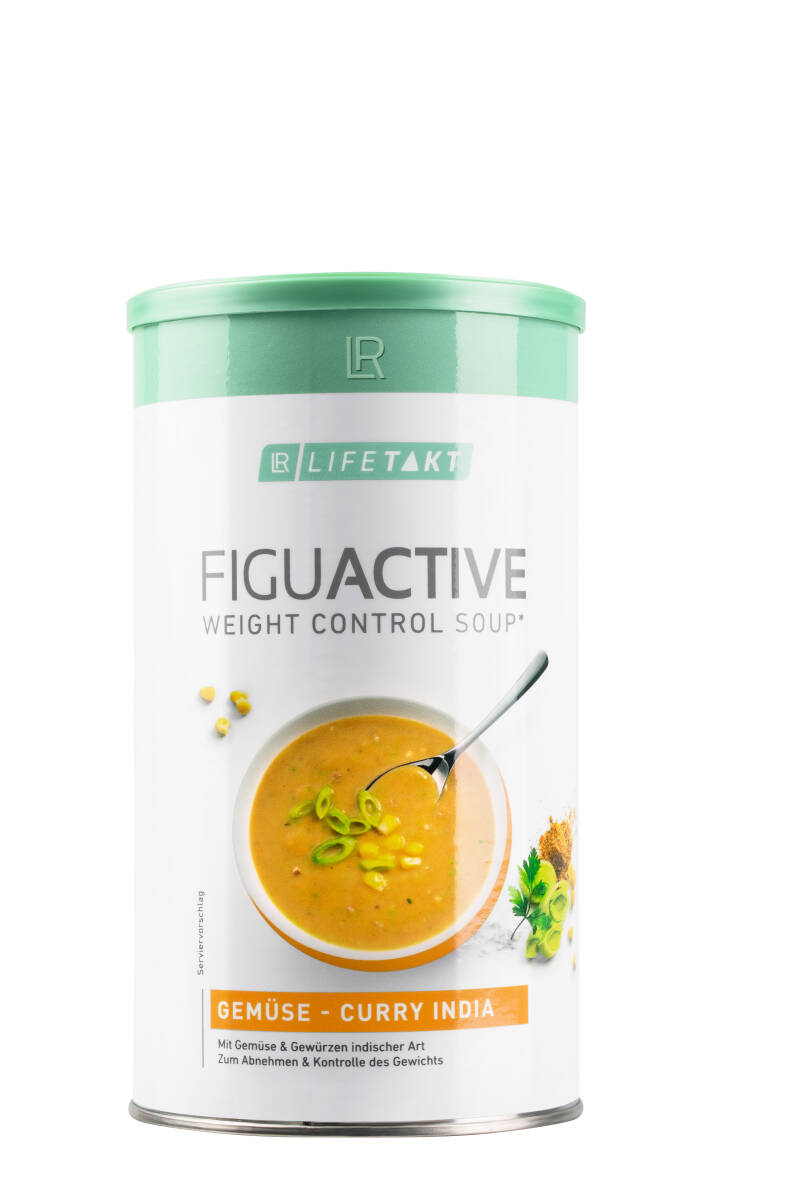 LR LIFETAKT FiguActive Weight Control Soup Groenten-Currysoep