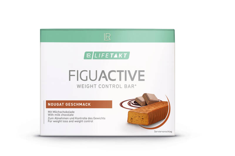 LR LIFETAKT FiguActive Weight Control Bar Nougat