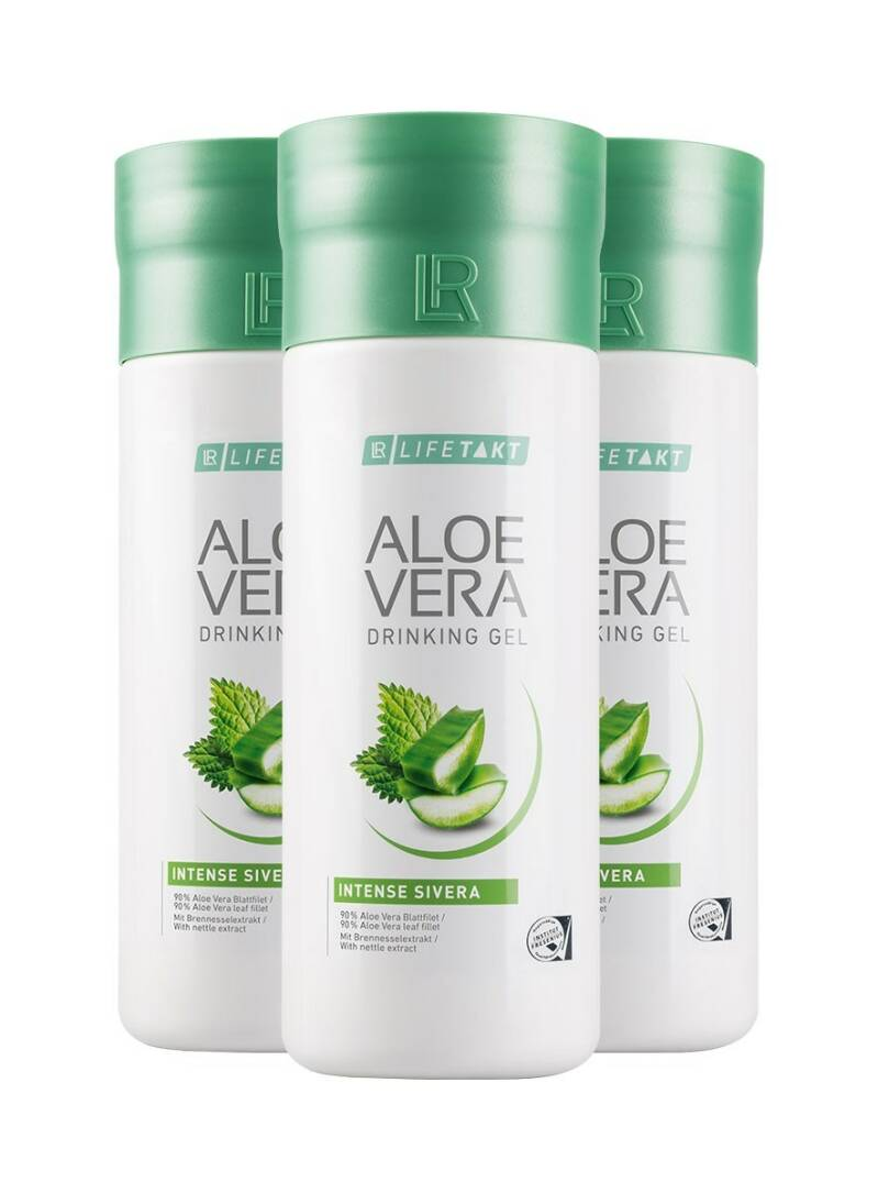 LR LIFETAKT Aloe Vera Drinking Gel Intense Sivera Set