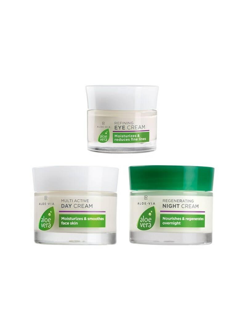LR ALOE VIA Face Care Set