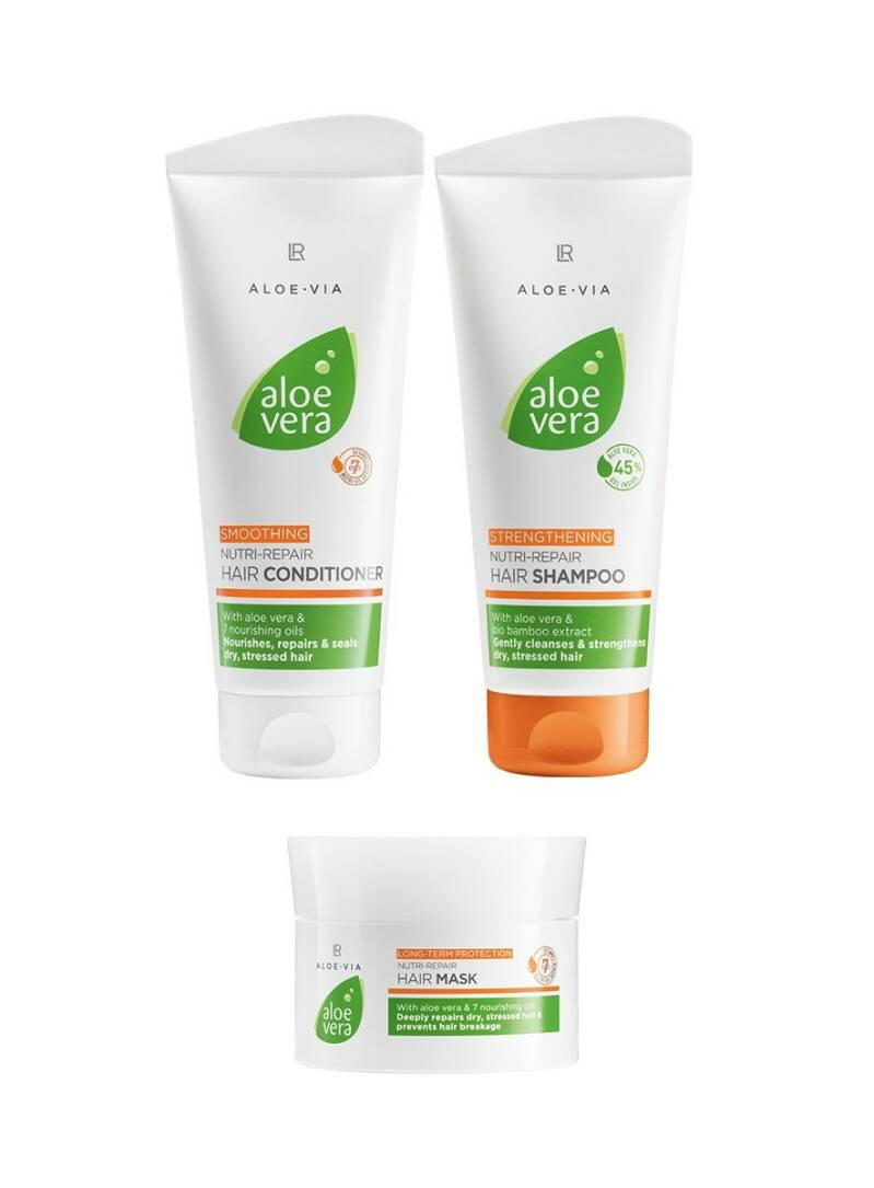 Aloe Vera Nutri-Repair Hair Care Set