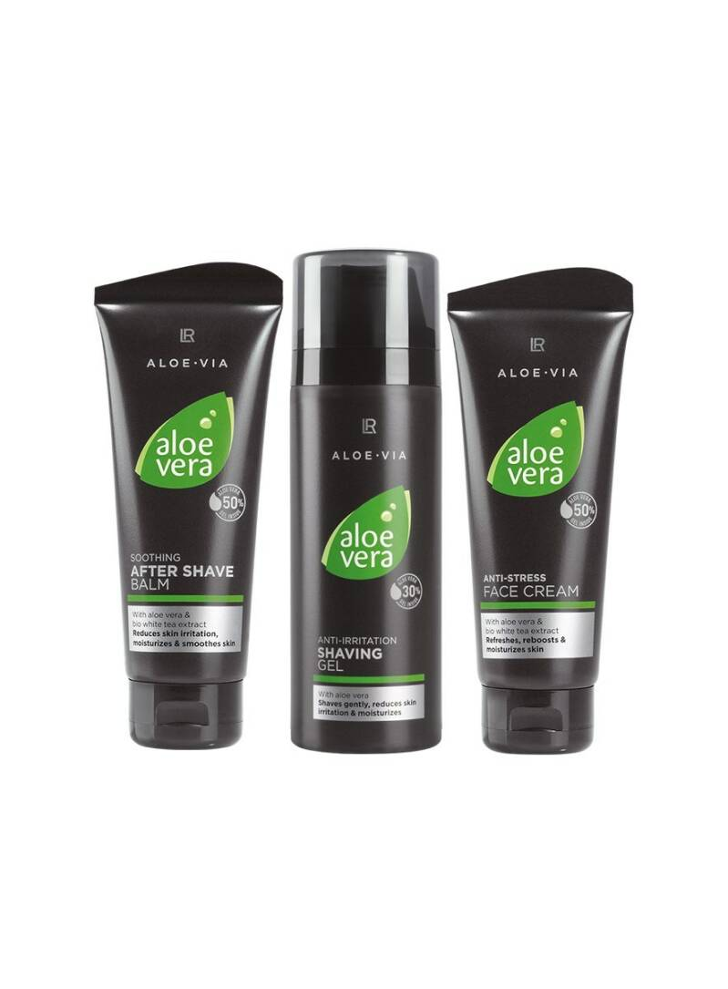 Aloe Vera Men Set with Shaving Gel