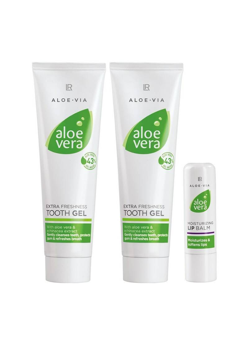 Aloe Vera Oral Care Set