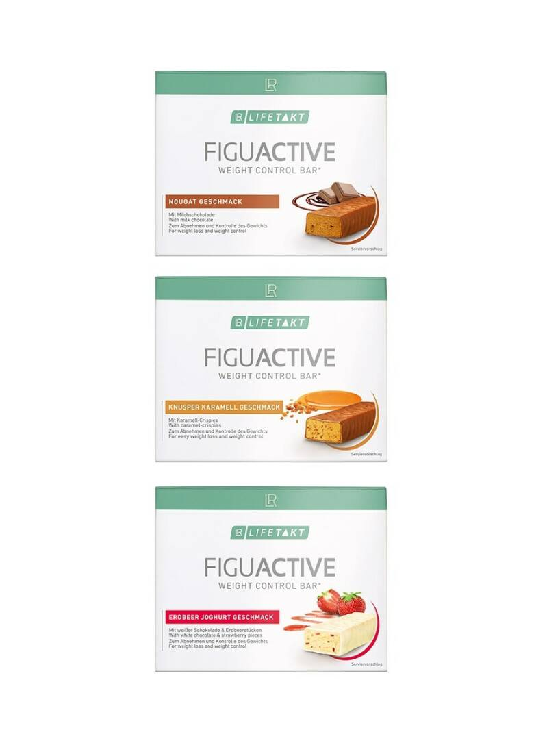 LR LIFETAKT FiguActive Weight Control Mix Set Bars
