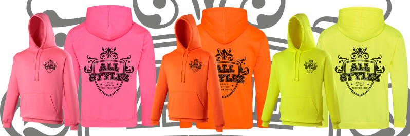 """Neon Summers"" hoodie by All Stylez"