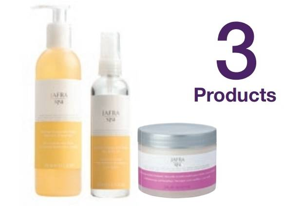 Spa set basic 3 producten