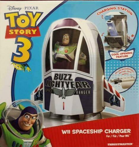 Toy Story 3 Disney, WII Spaceship charger