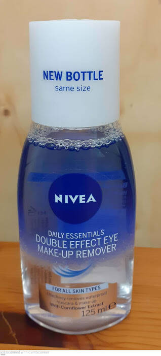 NIVEA DOUBLE EFFECT eyemake-upremover, waterproof
