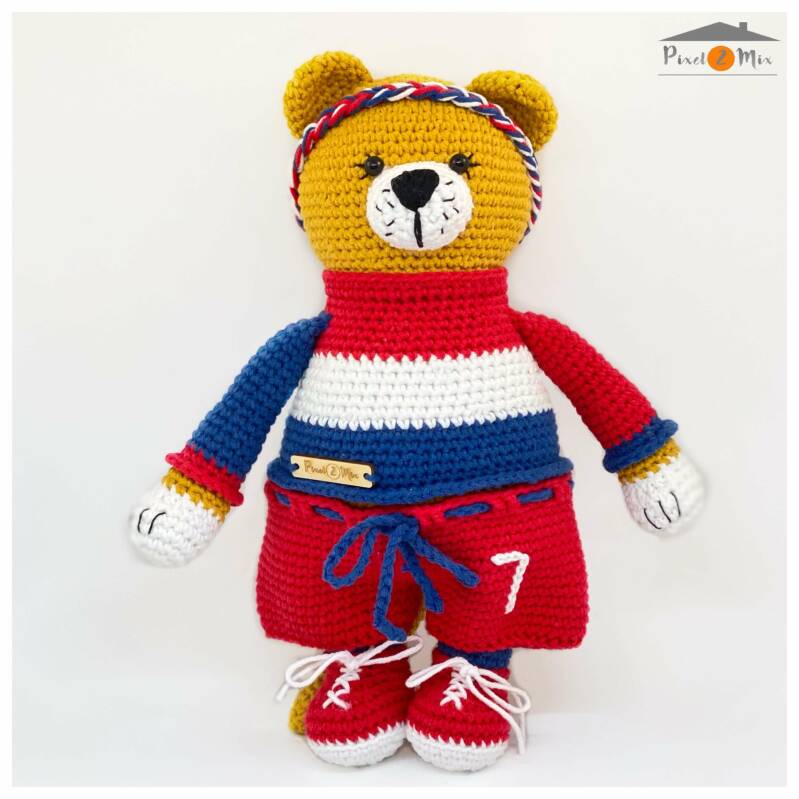 Lotte * The Female Lion * Crocheted Stuffed Toy