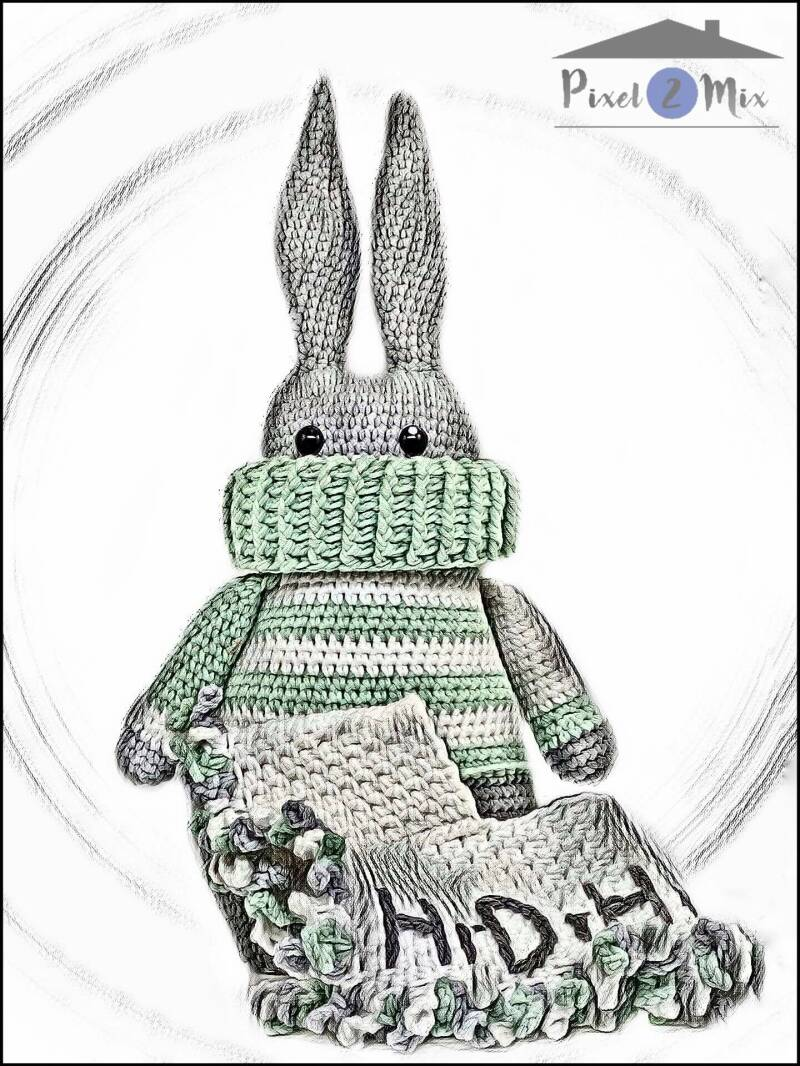 Renzo * The Bunny * Poster A3/A4 (2)