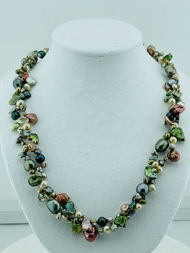 Collier zoetwater parels