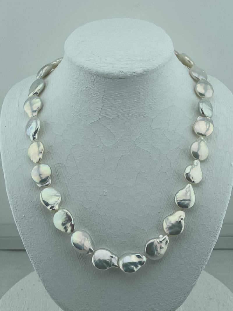 Collier zoetwater parel