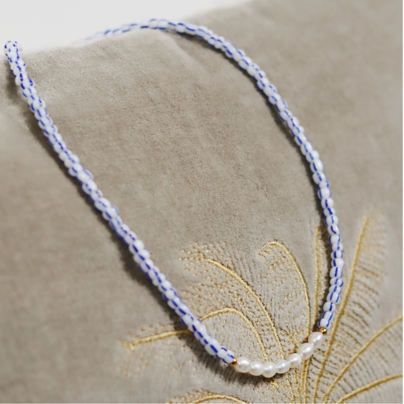 Greece pearl necklace