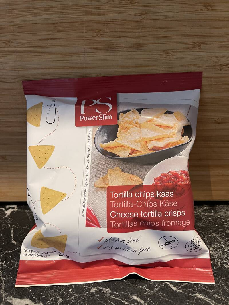 Tortilla Chips Kaas Power Slim Hartige Snacks