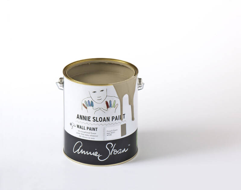 Annie Sloan Wall Paint 2.5 liter French linen