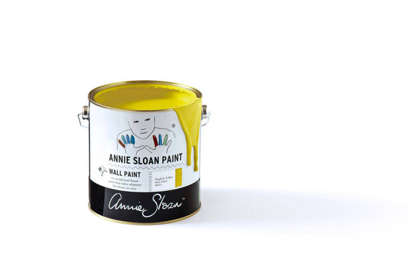 Annie Sloan Wall Paint 2.5 liter English Yellow