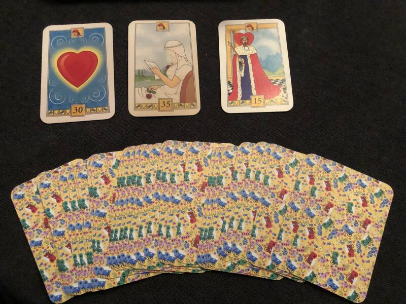 The old gypsy deck by Morgana
