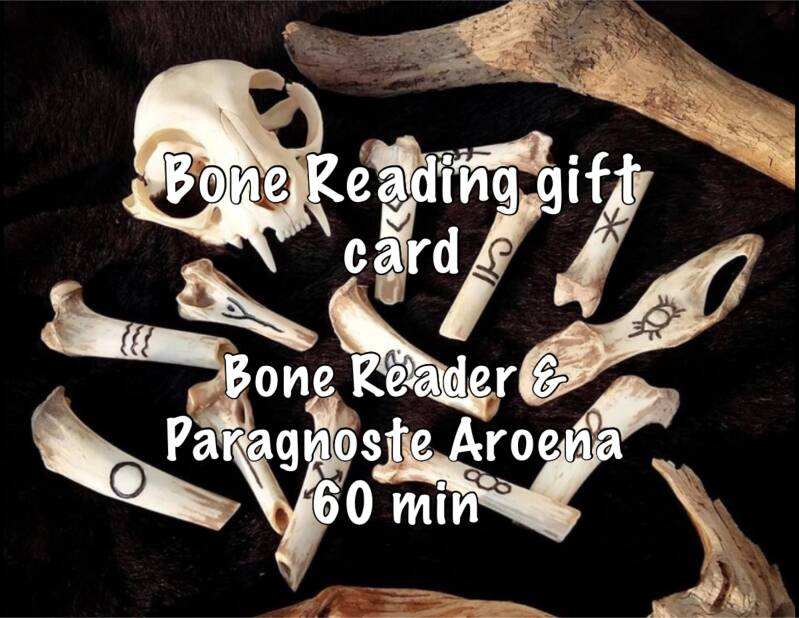 Gift card Bone Reading Consult 60 min