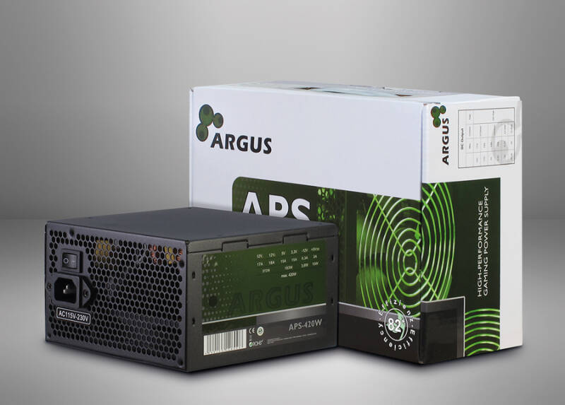 Inter-Tech Argus APS power supply unit 420 W  ATX Zwart