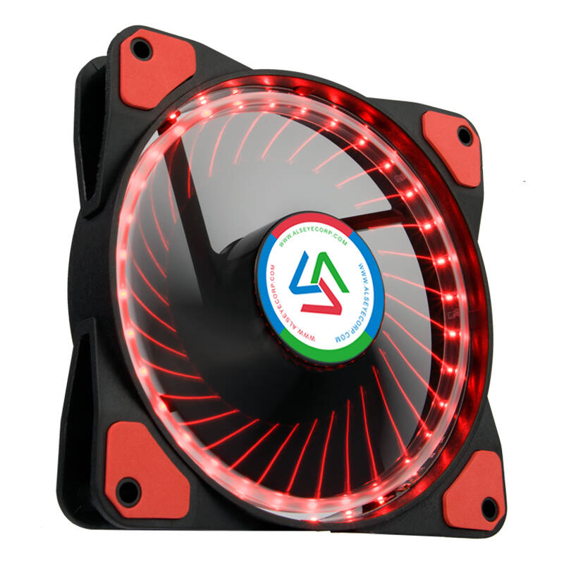 ALSEYE Windlight 1.0 case fan 120mm LED rood