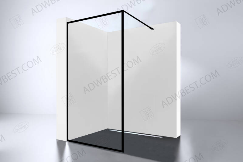 """Best-Design """"For-You 900"""" inloopdouche Walk-In 900x2000x8mm"""