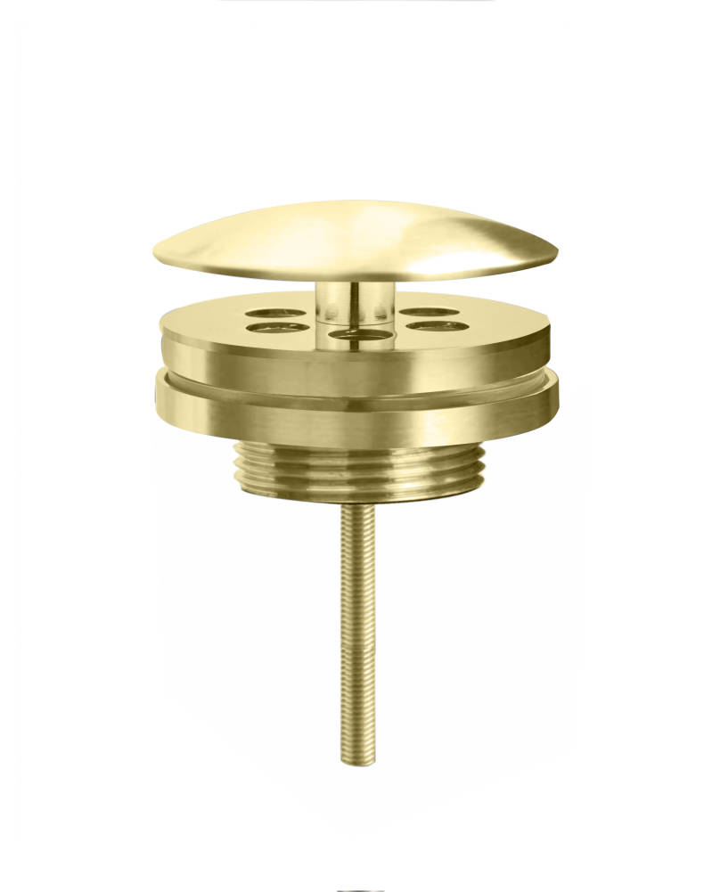 "Best-Design ""Nancy"" low fontein afvoer plug 5/4"" mat-goud"