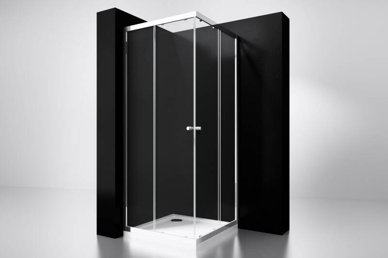 "Best-Design ""Project"" douche hoekinstap 80x80x190cm glas 5mm"