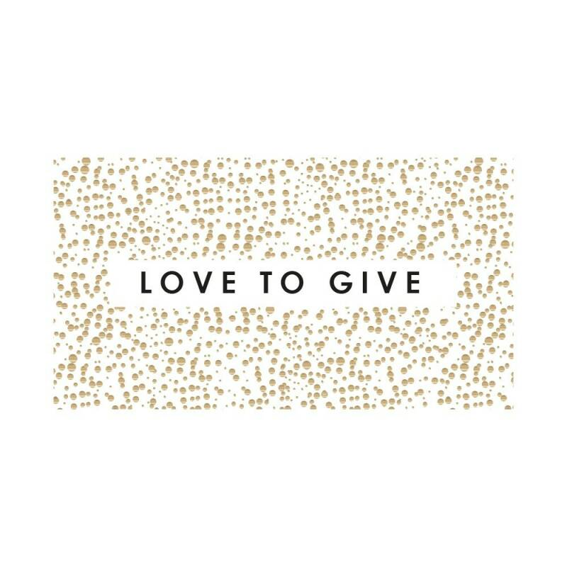 Love to give - Sticker