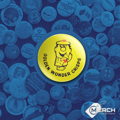 Golden Wonder Crisps Badge