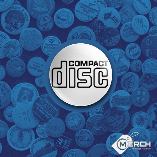 Compact Disc Badge