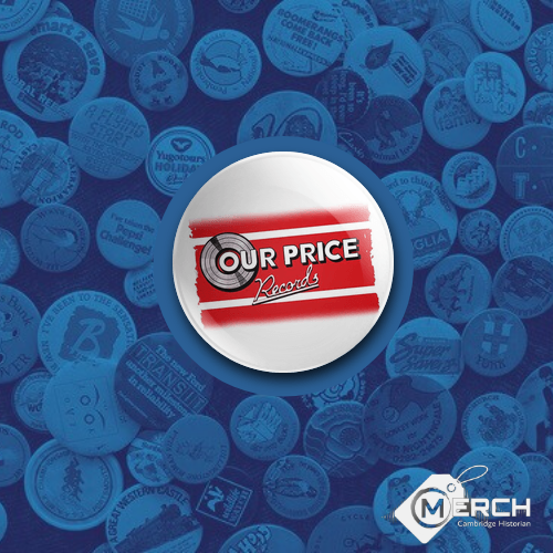 Our Price Records Badge
