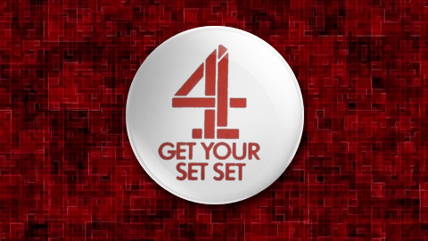 Channel Four Launch Badge