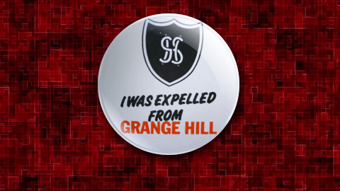 I was Expelled From Grange Hill Badge