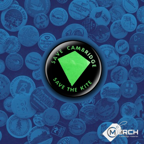 Save Cambridge Save The Kite Badge